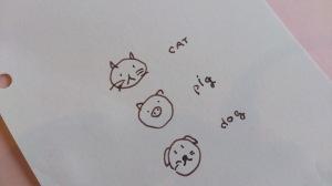 ◆◇ cat、pig、dog8