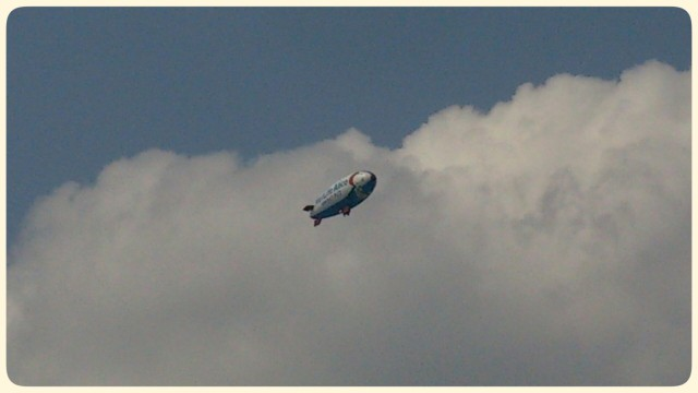 ◆◇ 雲と飛行船